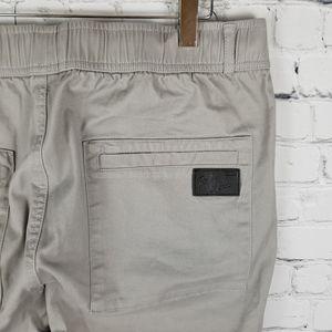 ITALY MORN | Designer Cargo drawstring slim pants